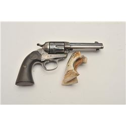 "18BG-6 COLT BISLEY #307631Colt Bisley Model single action revolver,  .38-40 caliber, 4.75"" barrel, b"
