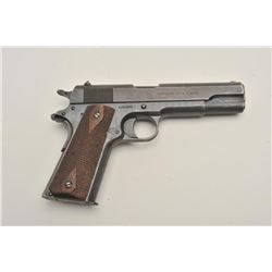 "18BG-3 COLT 1911Colt U.S. Property-marked Model 1911  semi-automatic pistol, .45 caliber, 5""  barrel"