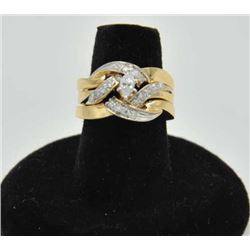 18RPS-21 DIAMOND RINGOne beautifully designed marquee diamond  and18 side diamonds. Approx total wt