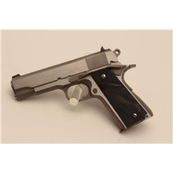 18BM-39 RANDALL RAIDEREarly Randall Raider stainless 9mm semi  automatic pistol, #RF0003256C, 4 1/4""