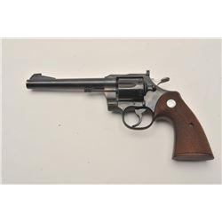18BW-6 COLT OFFICER'S MODELExcellent condition Colt Officer's Model  Match .22 target revolver. #672