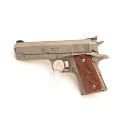 "18BM-55 AMT ""SKIPPER""AMT Skipper .45 ACP cal., compact stainless  semi auto pistol, #G01130, 4 1/4"""