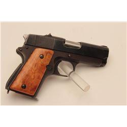 "18BM-45 EARLY DETONICSDetonics Combat Master .45 ACP semi auto  pistol, #2008, 3 1/2"" barrel, smooth"