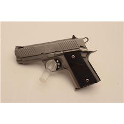 18BM-48 NEW DETONICSNew Detonics Series II semi-automatic pistol,  .45 ACP caliber, Serial #1CM045.