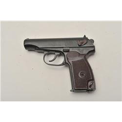 """18BM-59 MAKAROV 59Norinco Model 59 Makarov pistol, 9x18 cal.,  #ZZ272705, 3 5/8"""" barrel, blued finis"""