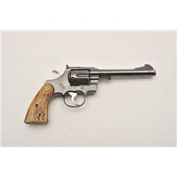 """17MB-2 COLT OFFICER'S MDL #901282Colt Officer's Model Match DA revolver, .38  Special caliber, 6"""" ba"""