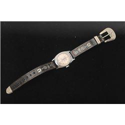 18BZ-9 HOPPALONG CASSIDY WRIST WATCHHoppalong Cassidy wristwatch with original  strap. 1950's. Very