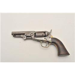 """18AP-24 COLT POCKETColt Pocket Model 1849 percussion revolver,  .31 caliber, 4"""" octagon barrel, bras"""