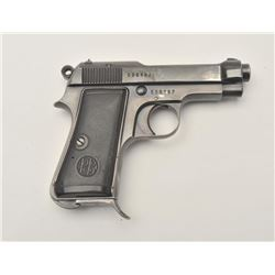 17MH-11 BERETTA 1934 #536187Beretta Model 1934 semi-automatic pistol,  .380 caliber, blued finish, b