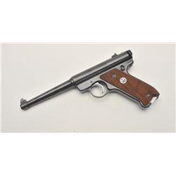 18AA-4 RUGER MARK II #486205Ruger Mark II semi-auto pistol, .22 Long  Rifle caliber, Serial #486205.