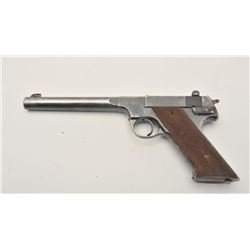 18AA-6 HI-STANDARD #173721Hi-Standard Model H-D Military semi-auto  pistol, .22 Long Rifle caliber,