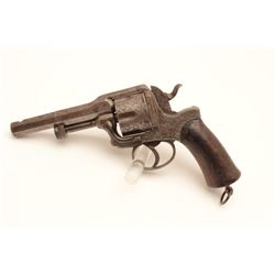 18BE-5 FRENCH DA REVOLVERFrancotte Patent style D.A. revolver similar  to French Military model 1873