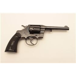 "18AL-57 COLT ARMY #485750Colt Army Special Model DA revolver, .32-20  W.C.F. caliber, 5"" barrel, blu"