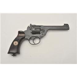 17MH-12 ENFIELD #L1070Enfield No. 2 MK 1 DA revolver, 1940 dated,  .38 caliber, mat black finish, Br