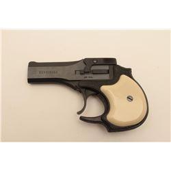 18AL-55 HI STANDARD #D02954High Standard O/U derringer, .22 caliber,  blued finish, simulated ivory
