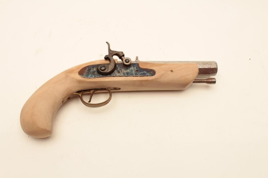 "18BB-1 CVA KIT PERC  PISTOLCVA percussion kit pistol, Serial #205758,  marked, ""Dikar, Spain""  The"