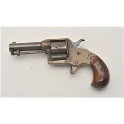 """18EMY-18 COLT CLOVERLEAF #5786Colt Cloverleaf Model spur trigger revolver,  .41 caliber, 3"""" barrel,"""