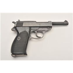 17FL-90 WALTHER HP NAZI PROOF #21536Walther Model HP semi-automatic pistol, nazi  proofed, 9mm calib