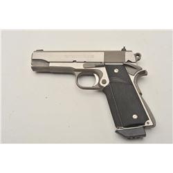 "18BM-40 ""RAIDER"" RANDALLEarly Randall Raider stainless .45 ACP semi  automatic pistol, #RF0002658C,"