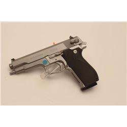 "18BM-69 645 .45 SPECIALSmith & Wesson 645 stainless .45 ACP semi  automatic pistol, #TBU2637, 5"" bar"