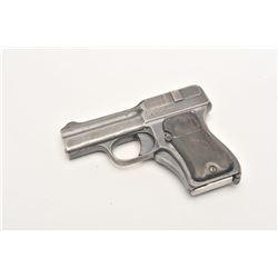 17FL-165 SCHWARZLOSE BLOW FORWARD AUTOA.W. Schwarzlose blow-forward semi-automatic  pistol, with mac