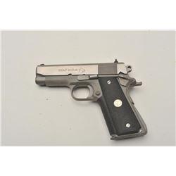 18BM-2 COLT SILVER STALLION #CSS330Colt Silver Stallion Officer's Model semi  automatic pistol, .45