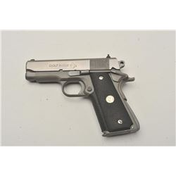 18BM-6 COLT SILVER STALLION #CSS317Colt Silver Stallion Officer's Model semi  automatic pistol, .45