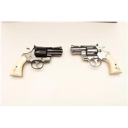 "18BM-64 SNAKE EYESColt Snake Eyes limited edition Custom Shop 2  gun set of 2 1/2"" Pythons.  Each gu"