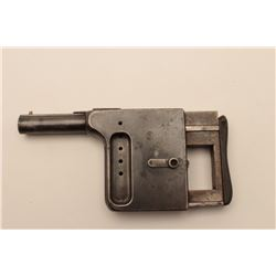 """18AR-89 GALOIS PALM SQUEEZERGalois No. 1 8mm extra short palm squeezer by  """"Mfg. Francaise Armes and"""