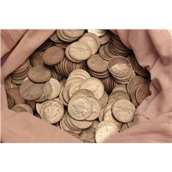 18BZ-1 COIN LOT500 U.S. Silver dollars mostly piece dollars  dated 1922-23. In circulated condition.