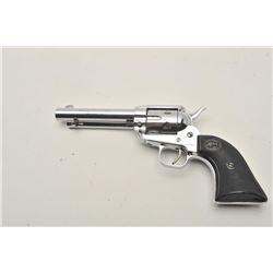 18CA-310 H. SCHMIDT S.A.H. Schmidt Single Action .22 caliber revolver  patterned after Colt Scout. N