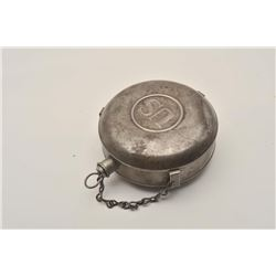 18AL-22 U.S. CANTEENU.S. canteen and combo mess kit with plus and  chain. CBH Jackson collection tag