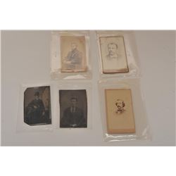 18AL-77 MISC. LOTAntique & vintage photographic lot including  CDV's, images and tintypes, several o