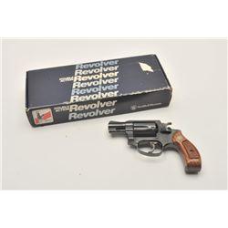 17MH-54 S&W 36-7 #BPY4426Smith & Wesson Model 36-7 DA revolver, .38  S&W Special caliber, blued fini