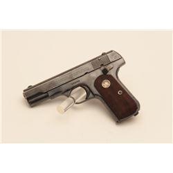 17AY-2 COLT 1908 #104777Colt Model 1908 Pocket Hammerless  semi-automatic pistol, .380 caliber, Seri