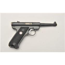 18AA-11 RUGER MARK II 50TH ANN. #223-36882Ruger Mark II 50th Anniversary semi-auto  pistol, .22 Long