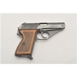17LP-3 MAUSER HSC #01-20527Mauser Model HSC semi-auto pistol, 9mm Kurz  caliber, Serial #01-20527.