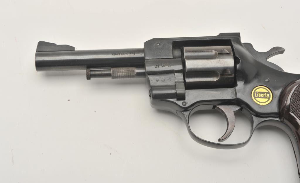 17LP-6 ARMINIUS HW-5 #232135Arminius HW 5 Liberty model revolver,  32  caliber, Serial #232135  The