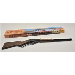 17LP-8 DAISY RED RYDERDaisy Red Ryder lever action bb rifle, .177  caliber, Serial #NSNV.  The rifle