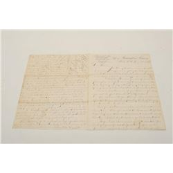 18BD-10 REMINGTON LETTER DATED 1863Remington Arms Co. letter dated Feb 14th,  1863 on Remington & So