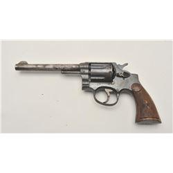 17LB-5 EIBAR COPY OF S&W #32726Eibar copy of a Smith & Wesson DA hand  ejector revolver, .38 Special
