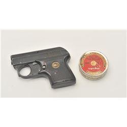 17LP-15 ROHM STARTER PISTOLRohm RG 3 starter pistol with a tin of  blanks.  The pistol is in good ov