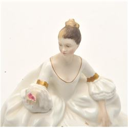 """17FU-30 ROYAL DOULTON """"MY LOVE"""" 1965 FIGURINERoyal Dalton """"My Love"""" figurine,   approximately 7"""" in"""