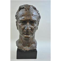 17LW-3 BRONZE BUST BY FERENC VARGAOriginal Bronze Bust signed Ferenc Varga of  Del Rey Beach, Florid