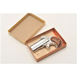 18BF-3 DAVIS DERRINGER #055525Davis Industries DM-22 derringer, chrome  finish, .22 cal., #055525, i