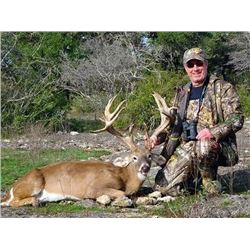 Texas Whitetail and Exotic Combo Hunt