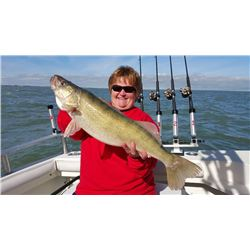 Trophy Walleye Trip on Lake Erie