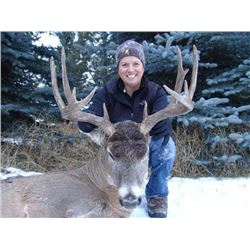 Choice of 6-Day Alberta Whitetail Rifle for 1 OR 6-Day Black Bear for 1 OR 3-Day Waterfowl for 2