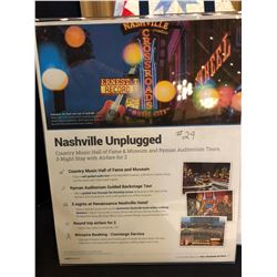 Nashville Unplugged!  Country Music Capital of the World