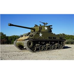 Drive a Sherman Tank and Fire it's 76mm Gun!